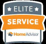 We've won the Elite Service award from HomeAdvisor