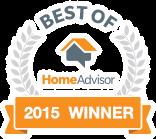 2015 winner of the Best Of HomeAdvisor