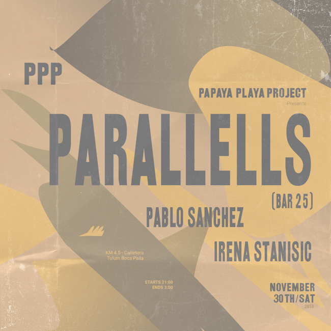 PPP Presents Parallells (LIVE)