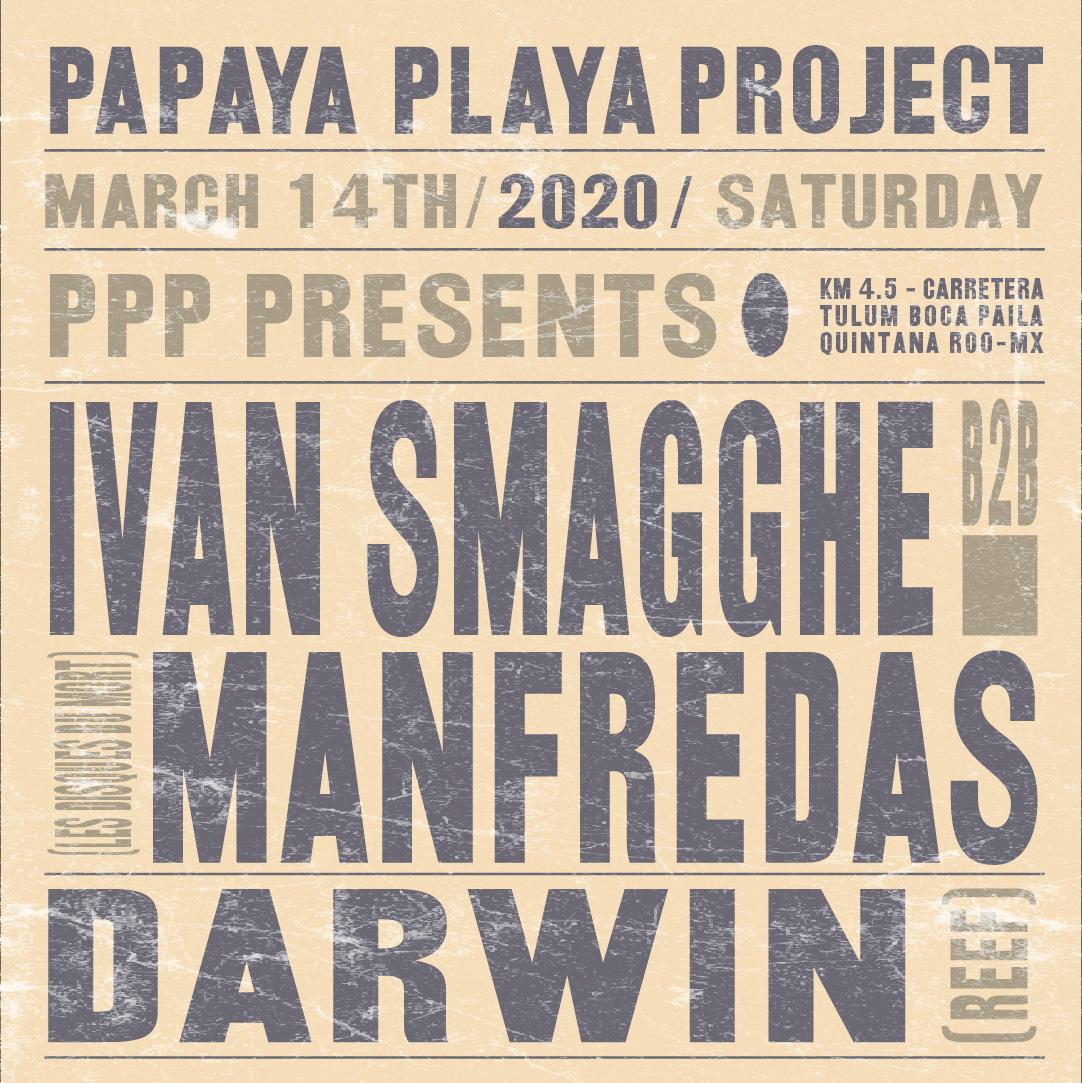 PPP Presents Ivan Smagghe b2b Manfredas