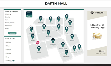 Shopping Mall Wayfinder