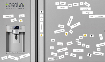 Virtual Word Magnets