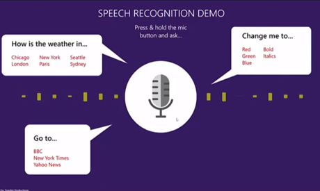 Speech Recognition Demo