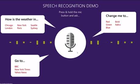 Speech Recognition Demo