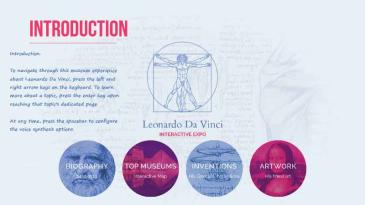 Da Vinci (accessible)