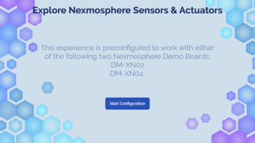 Explore Nexmosphere Sensors and Actuators