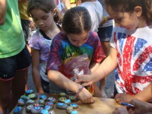 Peace Rocks sold to raise money for our International Children's Festival