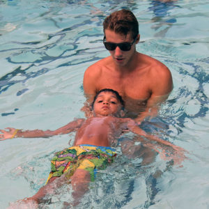 Daily Red Cross swim lessons at Hillcroft Day Camp