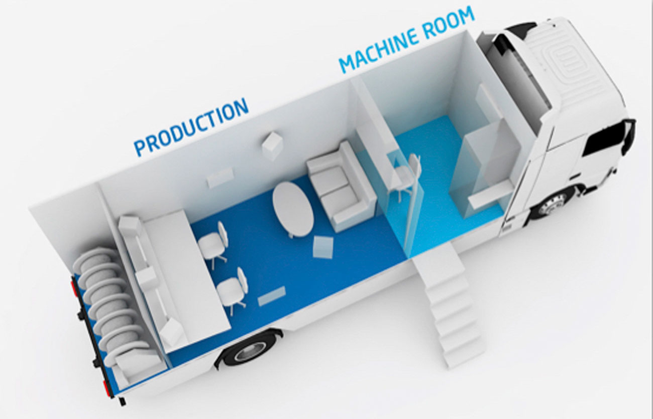ST1 Sweden - NEP's Mobile Unit/OB Trucks