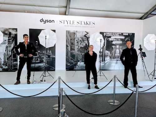 dslr photography event staff at a social playground brand event