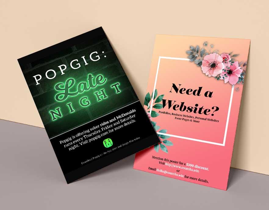 Poster Design for Popgig