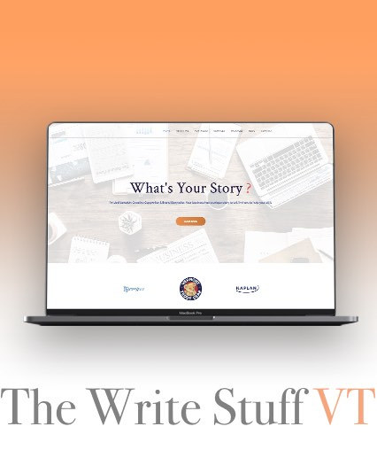 The Write Stuff VT Website Design & Development