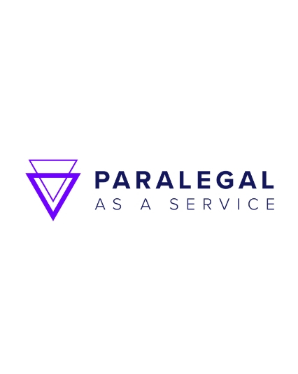 Logo for Paralegal as a Service, a Saas offering of Nextchapter and Fastcase