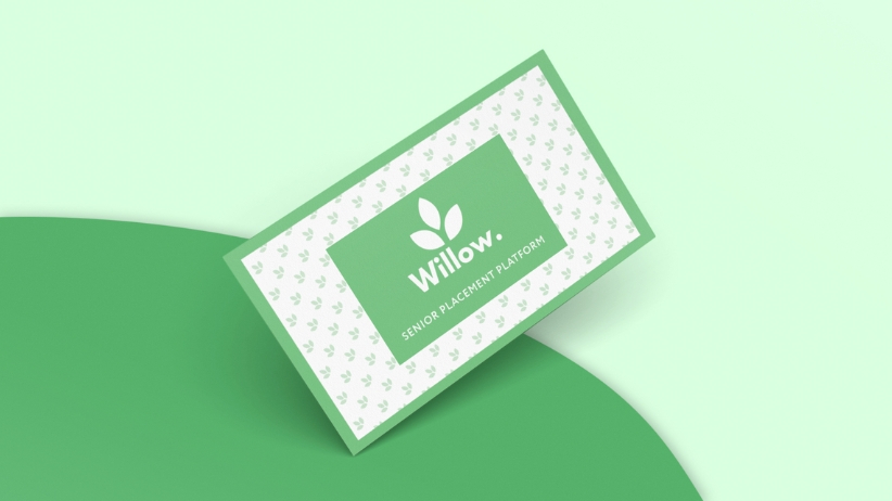 Willow Business Card Graphic Design