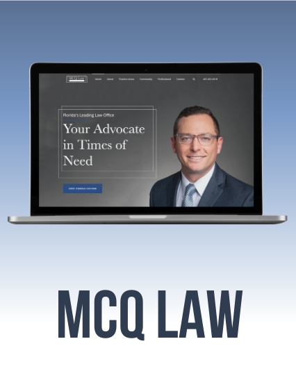 Website Design for Matthew Quattrochi, Esq.