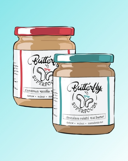Product Illustration for Butterfly Superfoods