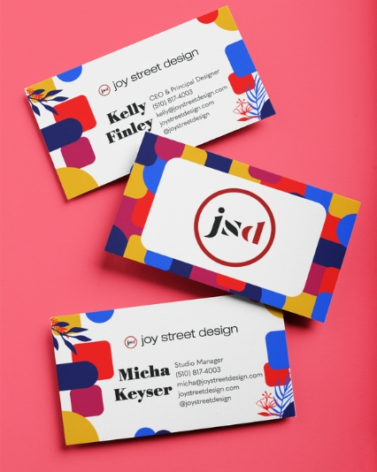 Business Card Graphic Design for Oakland Interior Design Firm