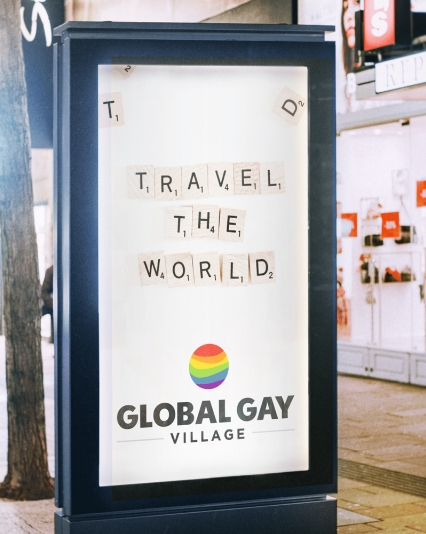 Brand Identity Design for Global Gay Village