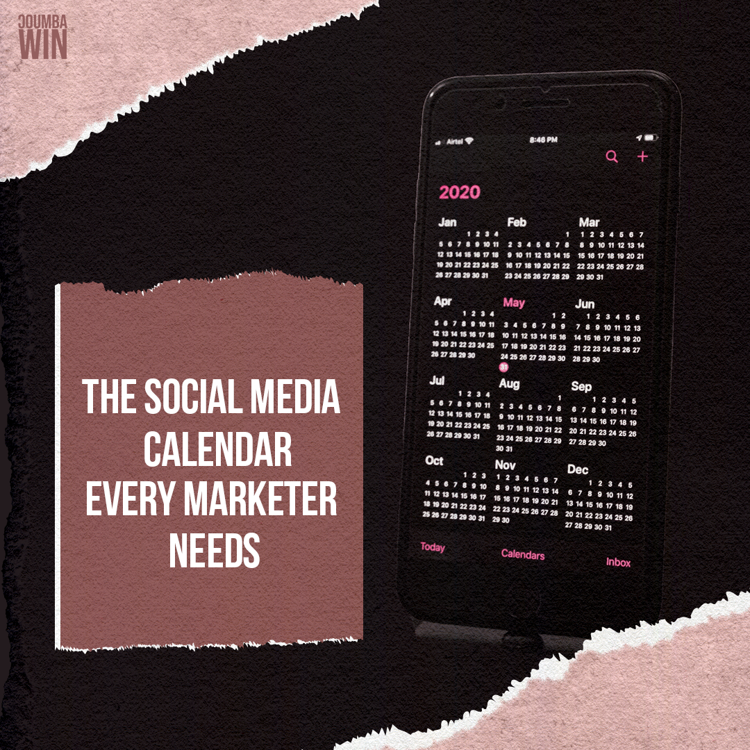 The Social Media Calendar Every Marketer Needs