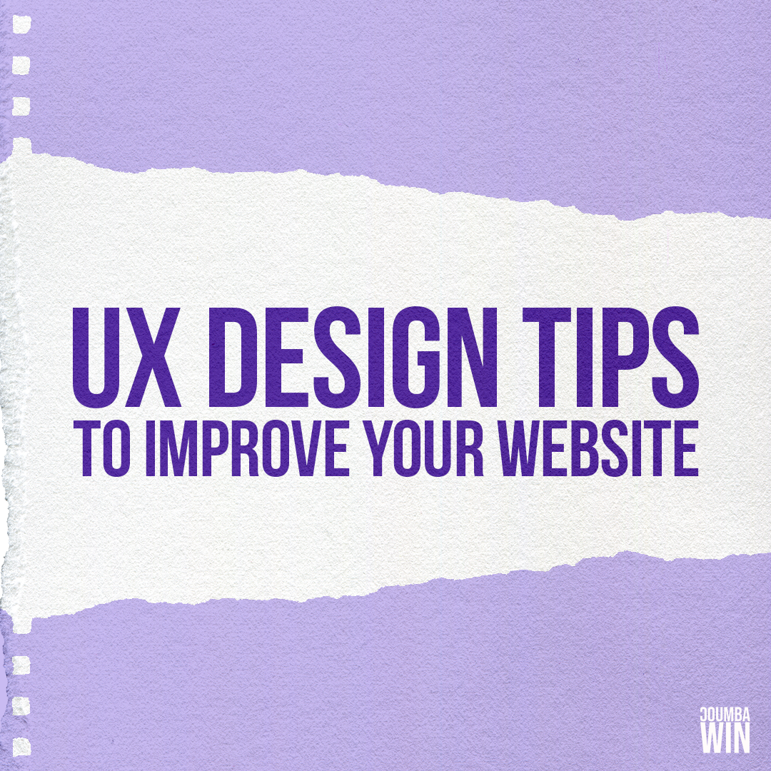 UX Design Tips to Improve Your Website