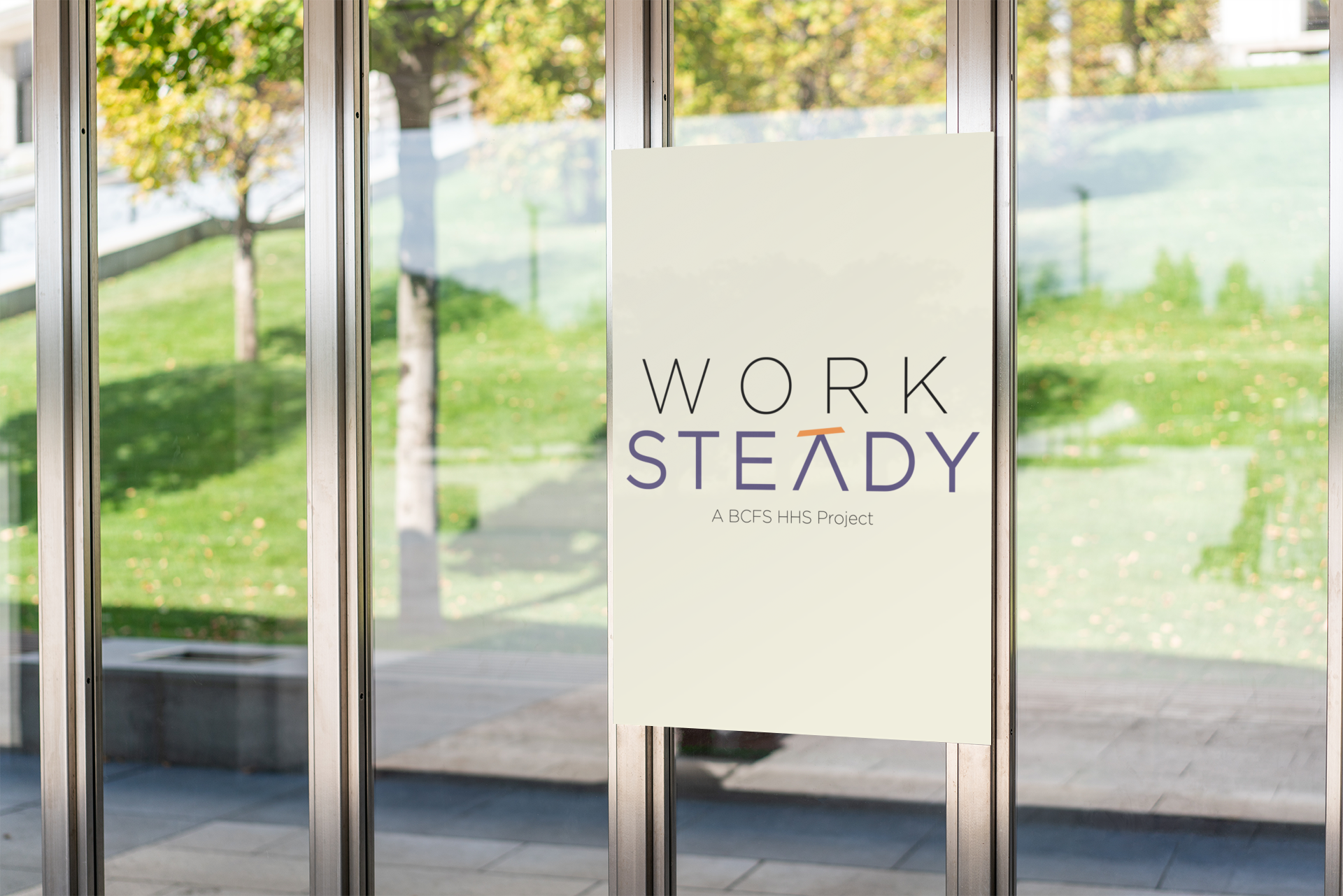 Work Steady Logo Design