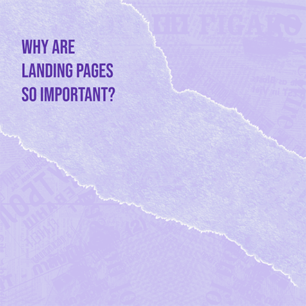 Why landing Pages are Important