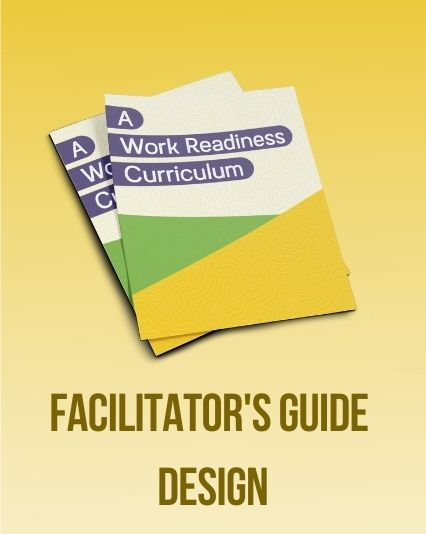 Work Steady facilitators' collateral