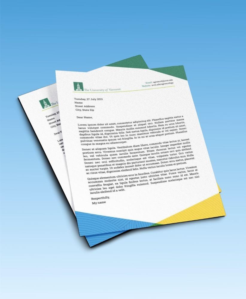 ALC letterhead design