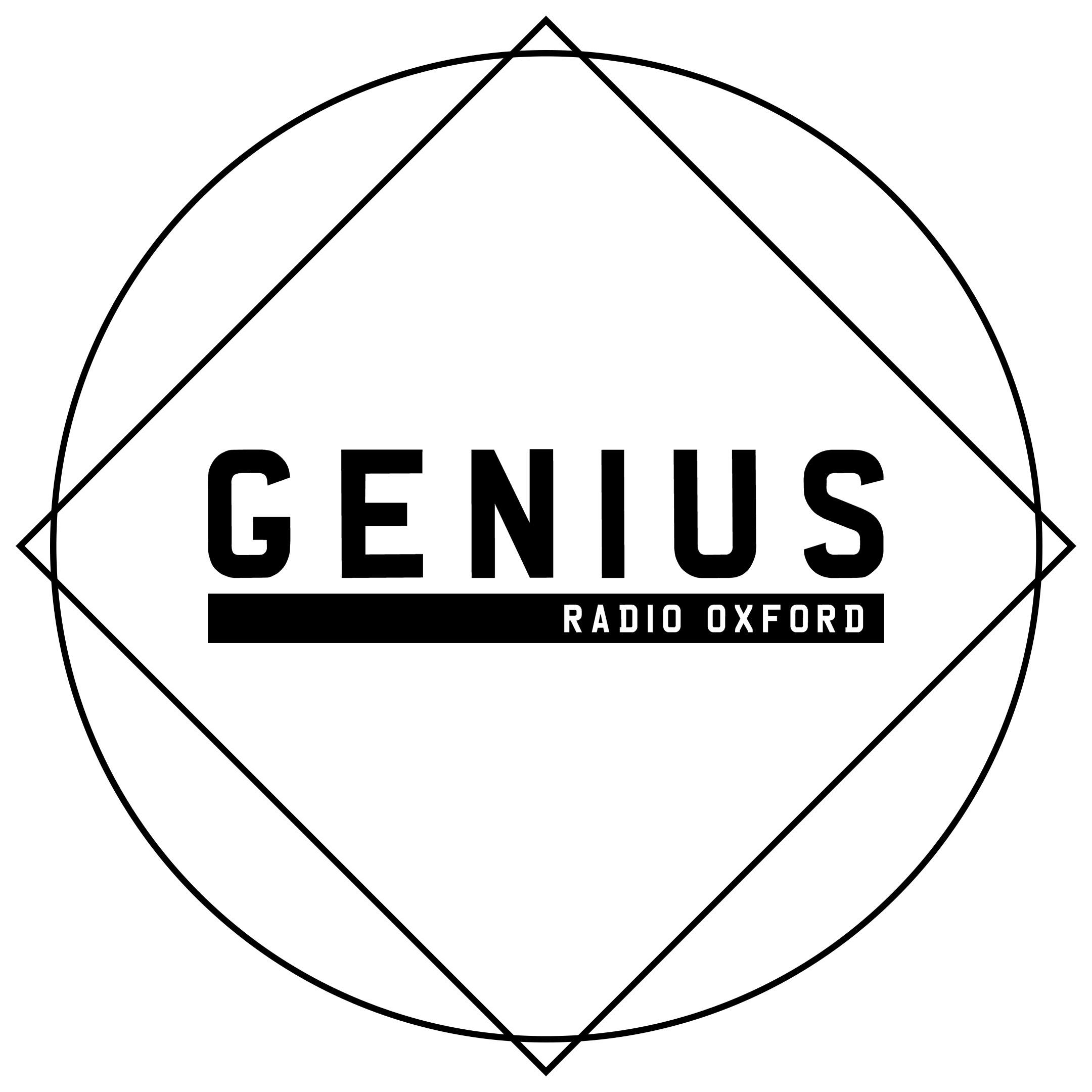 Dj on the radio at Genius Radio