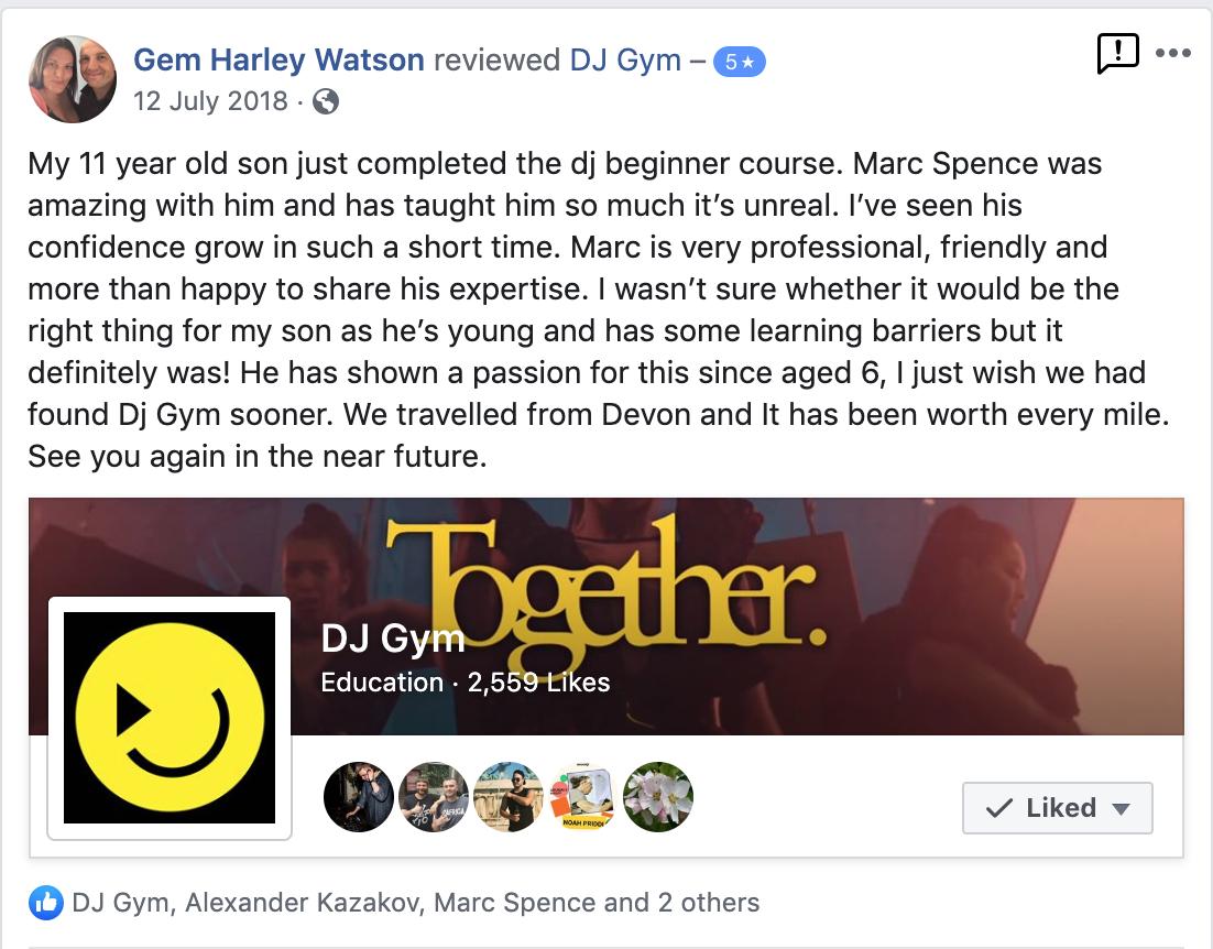 Kids DJ Lessons in Birmingham