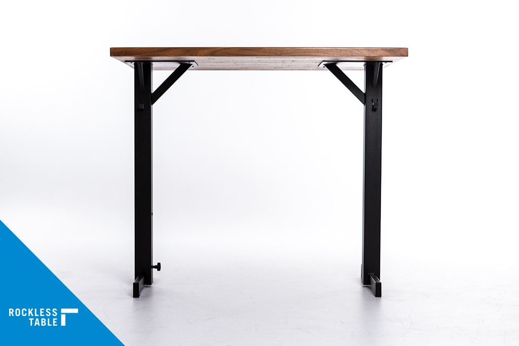 Rockless Table T Base