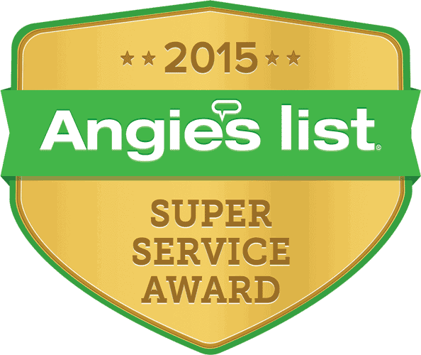 AC MAN is a proud angie's list super service award winner 2015