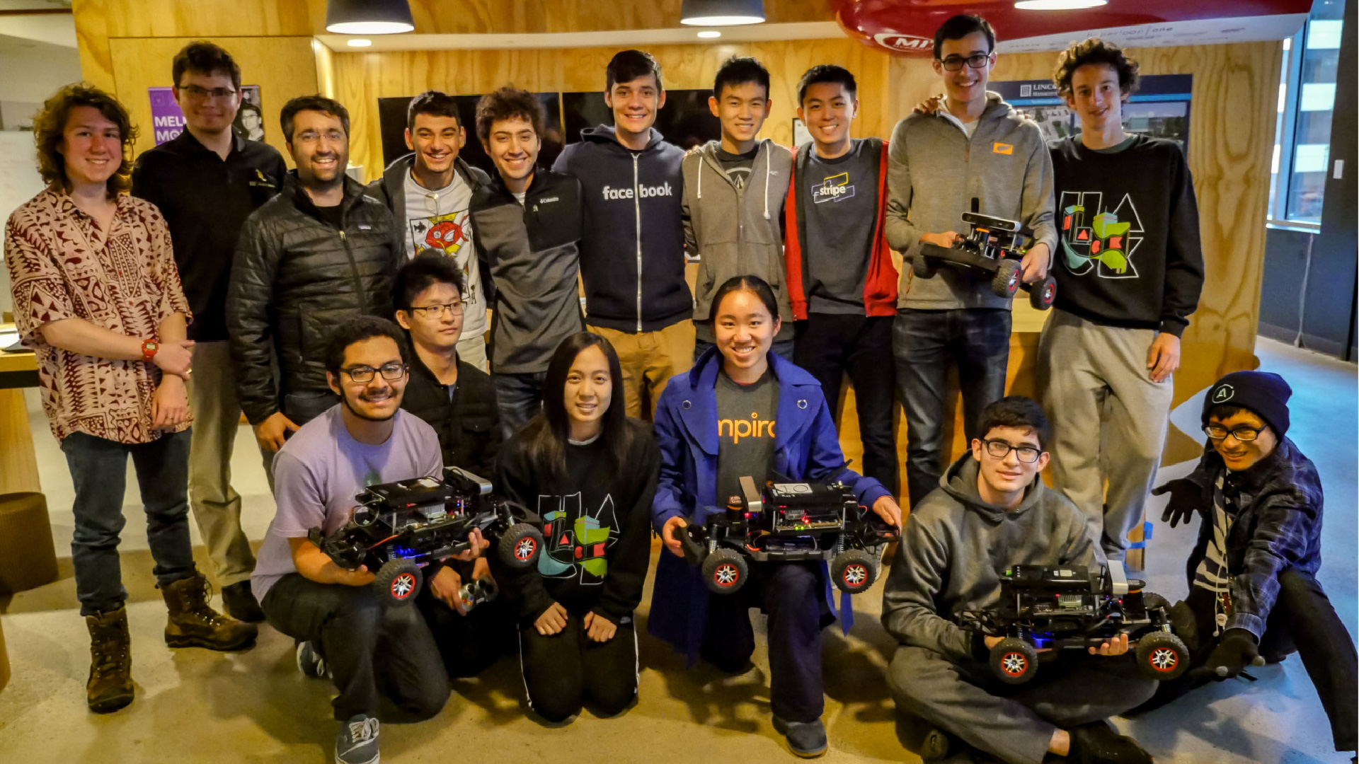 First-year students learn robotics