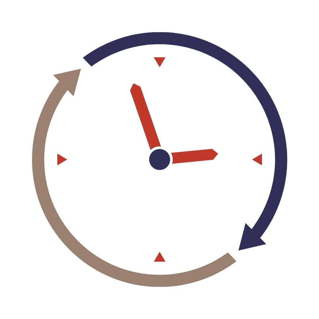 Clock icon representing probono time