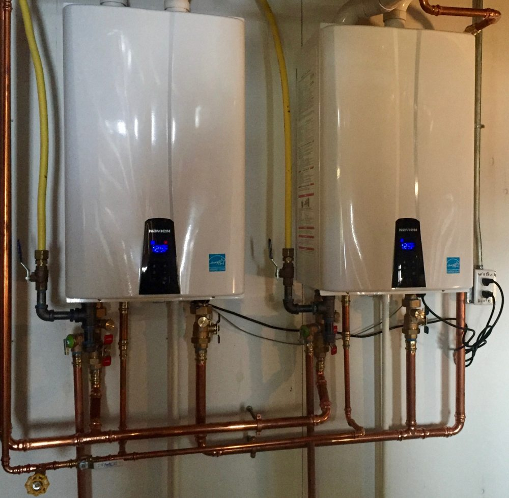 tankless water heater in a south broward home