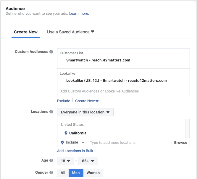 How to Reach Smartwatch Users with Facebook Ads | 42matters