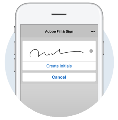 Image result for adobe fill and sign
