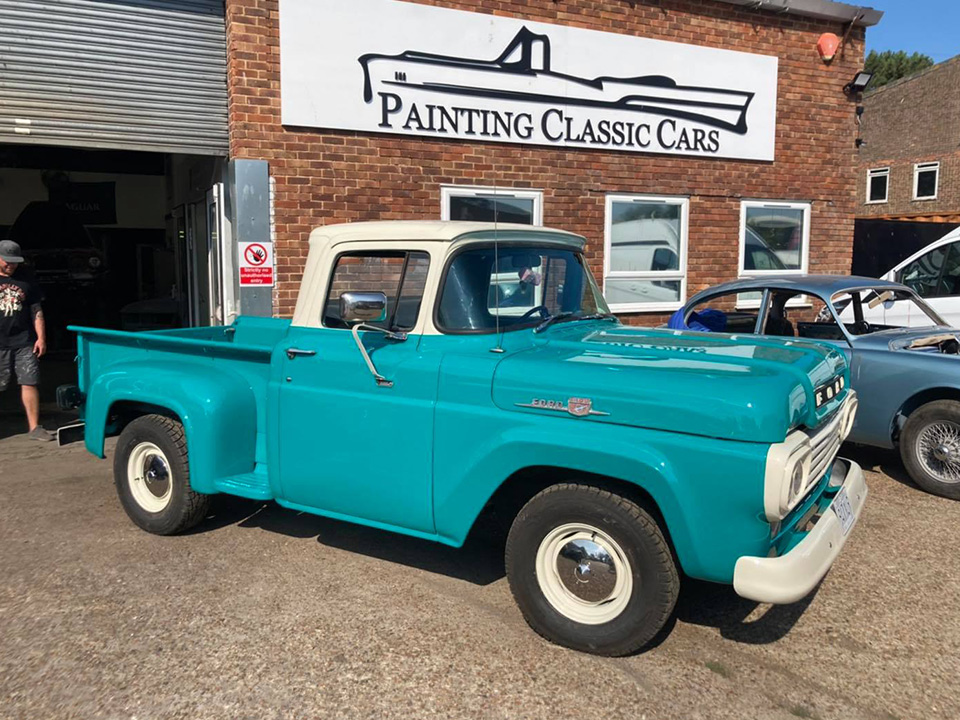 image of a classic car
