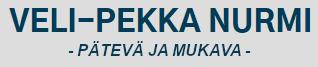 Veli-Pekka Nurmi, pätevä ja mukava