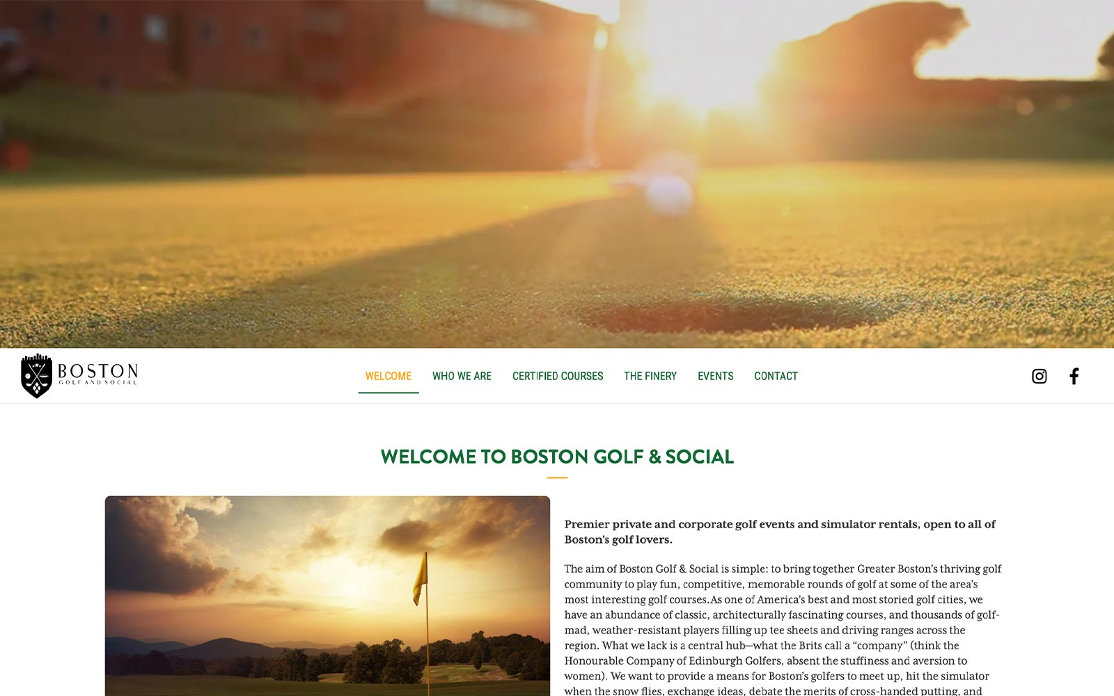 Boston Golf & Social