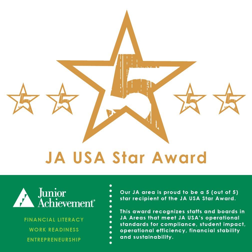 5 Star Award Recipient