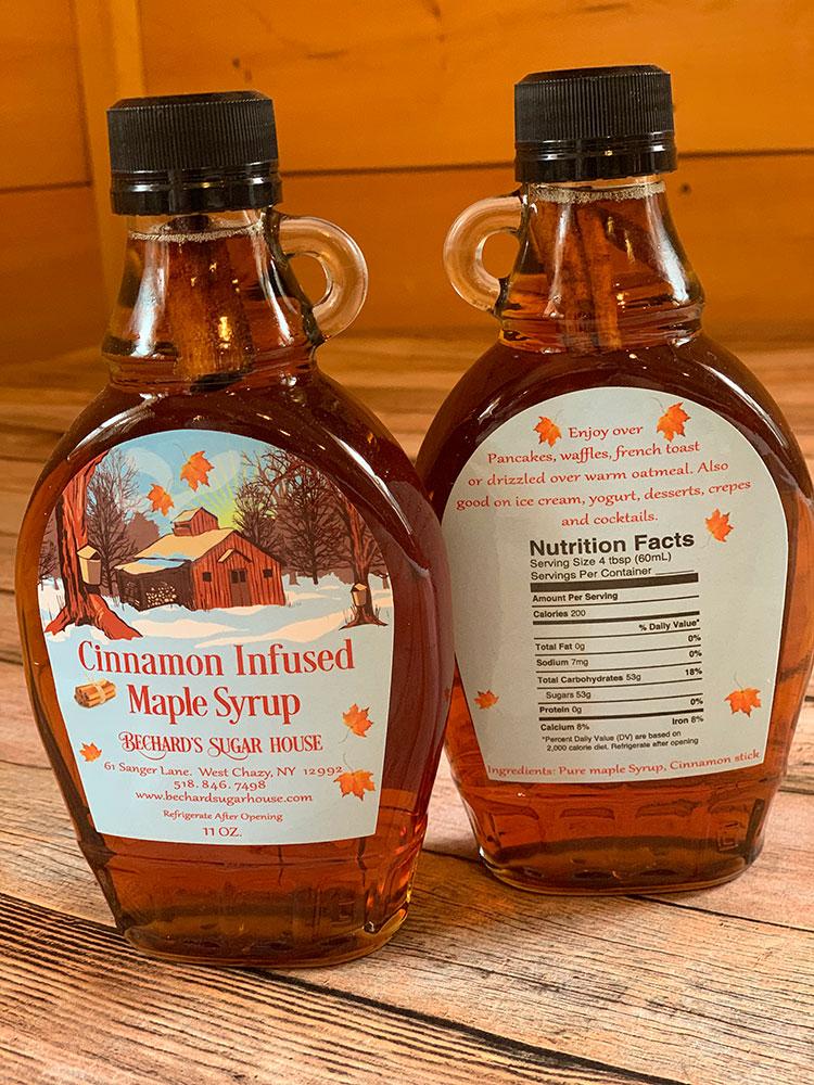 Cinnamon-Infused Syrup