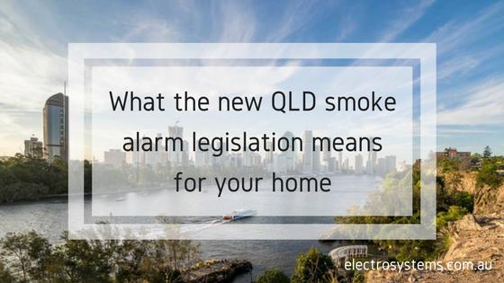 New QLD Smoke Alarm Legislation
