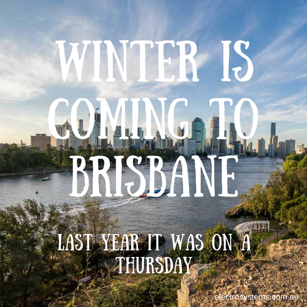 Winter in Brisbane