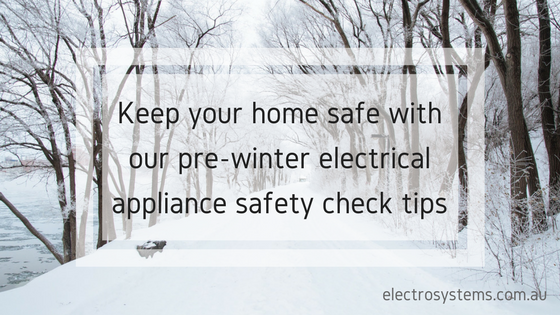 Electrical appliance safety check