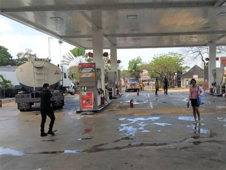 Gas station oil spill Kengro Biosorb