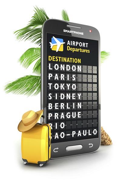 Smartphone Airport Board