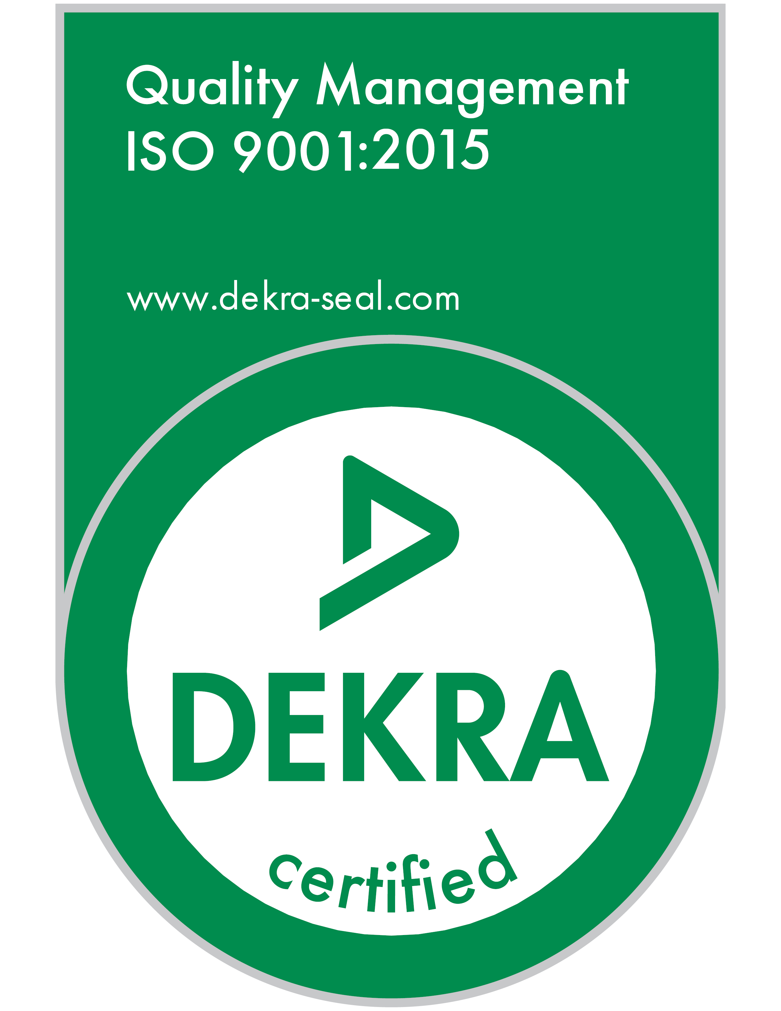 ISO 9001 certification icon