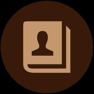 Kontaktbuch Icon