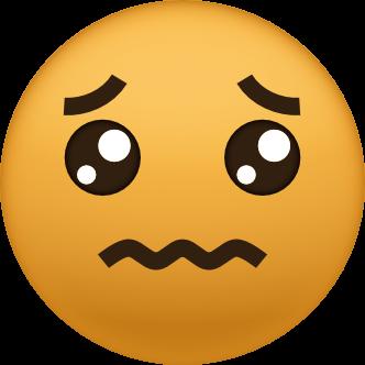 Trauriges Emoji